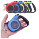 New Design 10 foot retractable dog leash 3M/5m high quality retractable dog leash pet