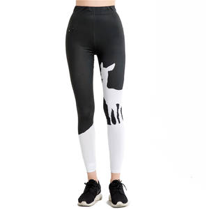 Super Doux Impression Conception Animale Sexy Legging Fille En Ligne