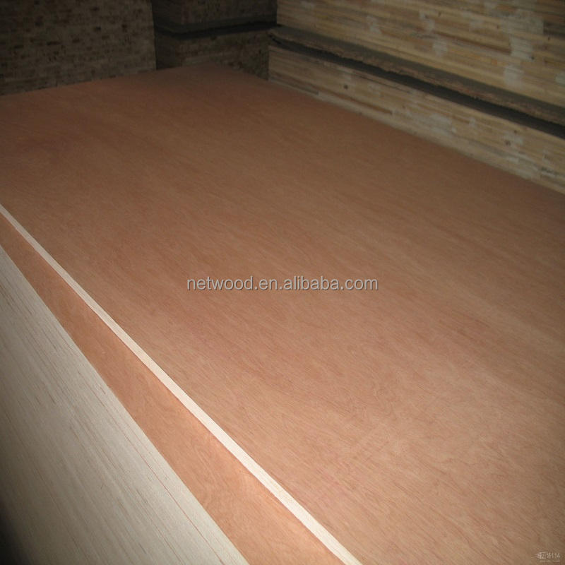 Gold China Supplier of Commercial plywood 100% new poplar core bintangor/okoume / Pine / Rubberwood plywood board