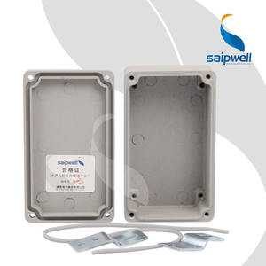 Saip/Saipwell factory price Waterproof IP66 Electrical Junction Box Aluminium Hinged cabinet Die Cast Aluminum Enclosure
