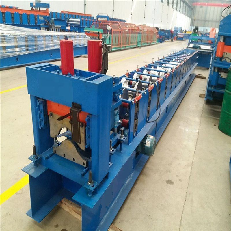Automatic Tile Cutting Machine Galvanized Ridge Cap Zinc Roofing Sheet Roll Forming Machine