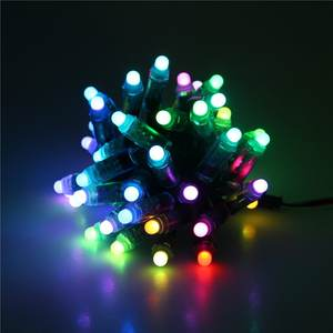 Digitale Schilder WS2812 DC12V Durch-Loch 12mm RGB LED Pixel Licht