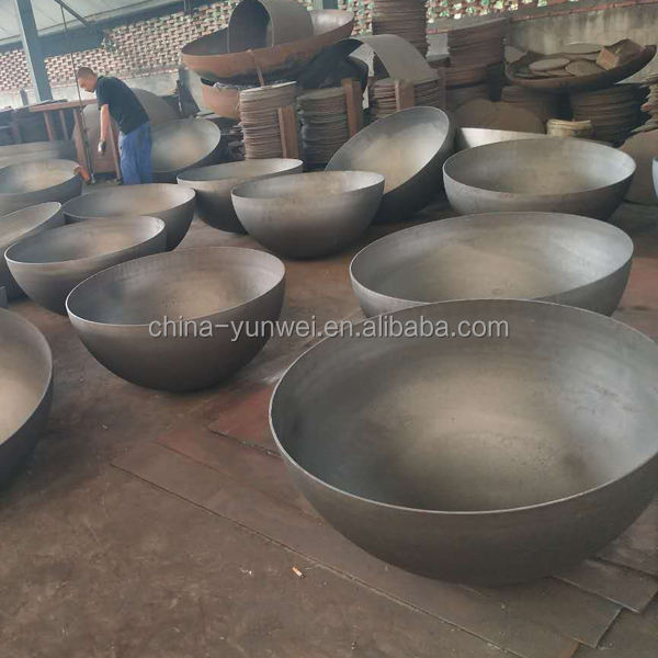 900mm 1000mm 1200mm Large Mild Steel Metal Half Sphere