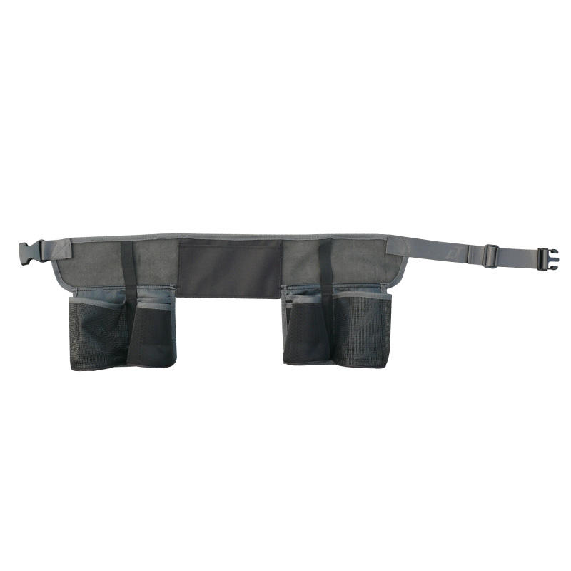 Hot Selling Promotion Polyester Wear Proof Oortable 85x20cm 4 Pouches Black Tool Belt Bag