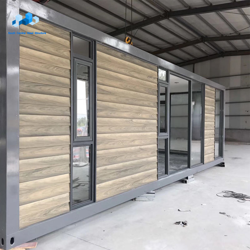 New design 20m2 modular prefab prefabricated modular house container office