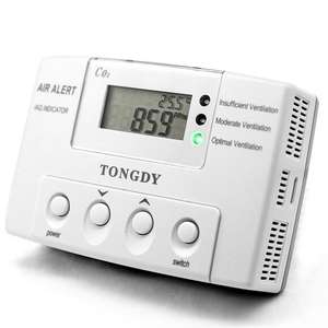 CO2 Temperature  Humidity Controller for Greenhouse