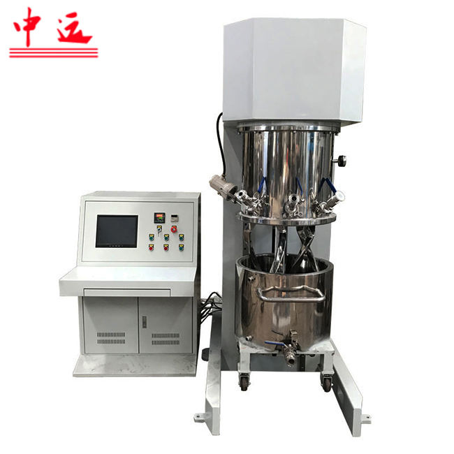 Ceramic paste mxiing planetary mixer/lithium battery paste mixer blender/construction sealant planetary mixer