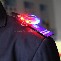 Red and Blue LED Warning Light for Police