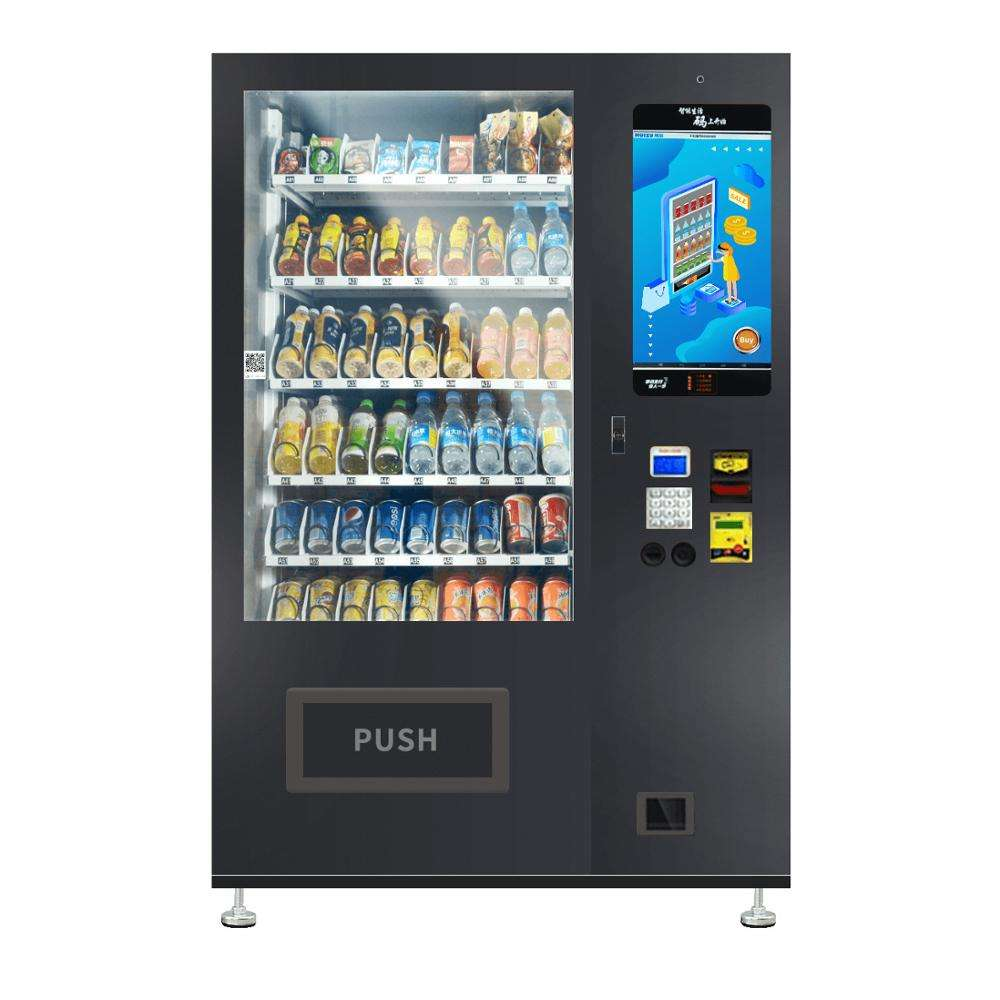 Micron smart vending WM22-W 24 hours self-service touch screen snack drink vending machine for Guangzhou vending machine supplie