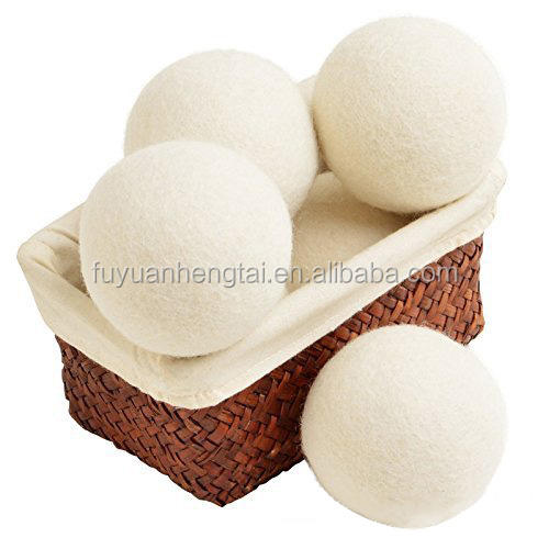 hot sale wool ball handmade wool felt ball organic wool ball dryer