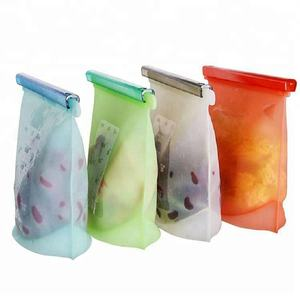 Wholesale Reusable Silicone Food Storage Bag For Kitchen