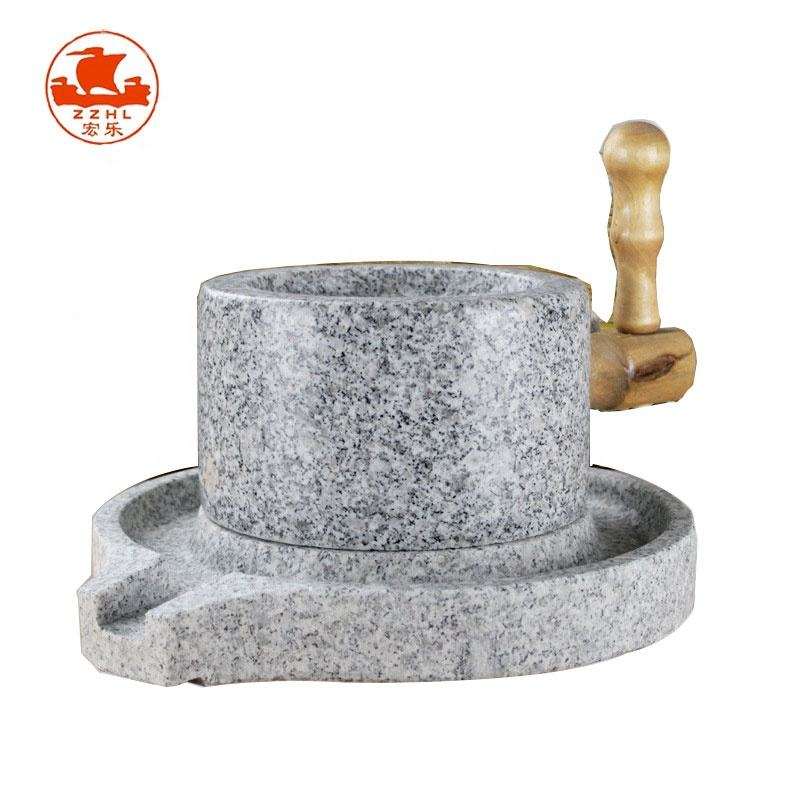 Cheap price manual stone grain flour mill for sale
