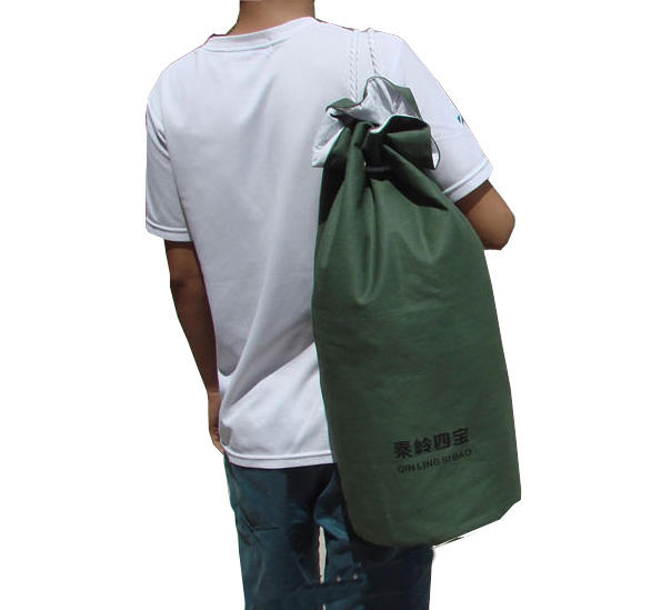Eco Friendly Organic Cotton Canvas Duffle Bag Drawstring Wholesale Colorful Cotton Traveling Bag