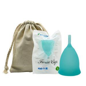 Free sample silicone menstrual cup copa menstrual