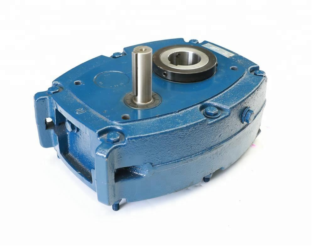 SMR series shaft mounted gearbox reducer with torque arm and backstop