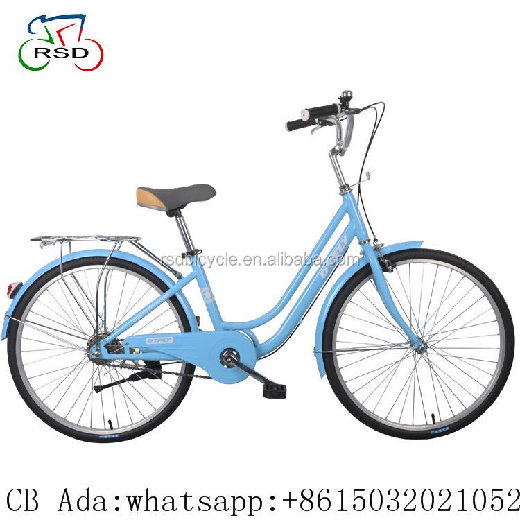 """도시 자전거 레이디 26 """"도로 자전거 네덜란드 도시 fiets/알루미늄 합금 소재 도시 자전거 2018 새로운 시장/700C 하이 텐 스틸 도시 자전거"""