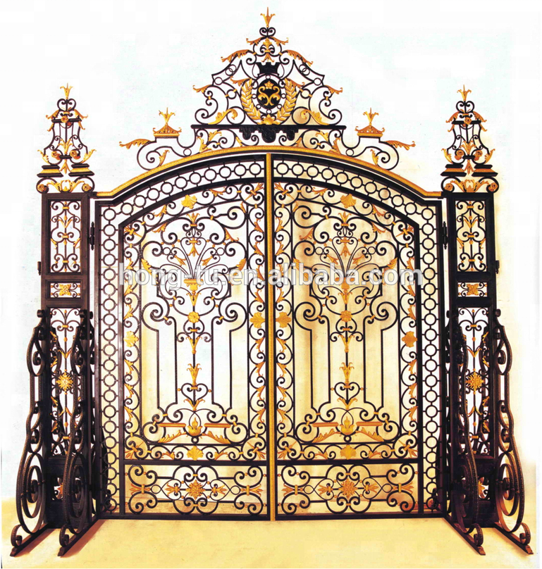Entrance Iron Main Gate Design For Home
