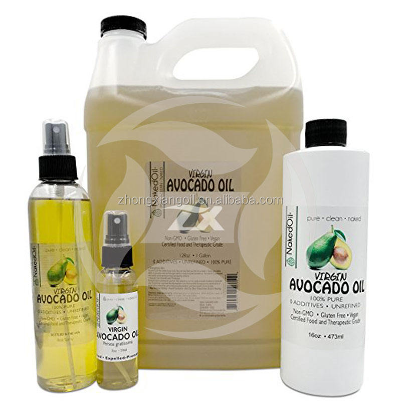 Promotional bulk organic avocado oil for free sample