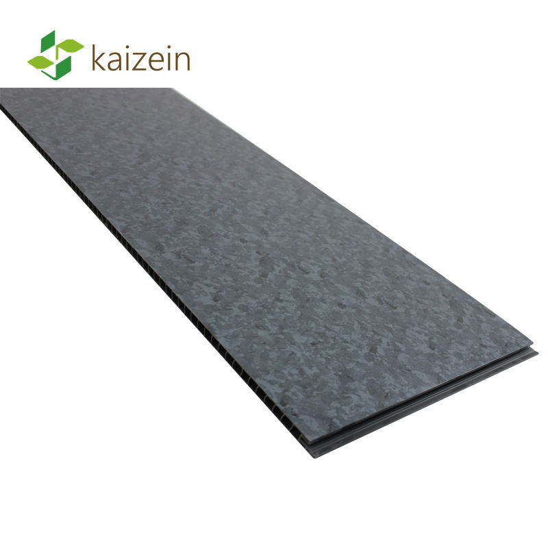 1000mm wide large black granite PVC shower bathroom wall panel for wet area room