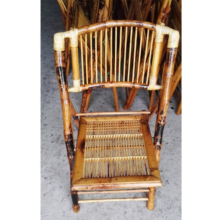 Good quality outdoor bamboo chairs for wedding with cushion
