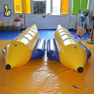 0.9 Mm PVC Inflatable Terbang Pisang Tabung Air Towable