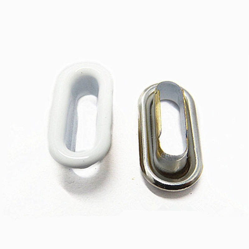 Various Color Oval Metal Eyelet And Grommet For Shoes