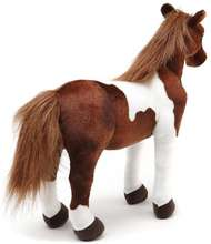 Soft Pony Lifelike Horse Animal Plush Stuffed Toy