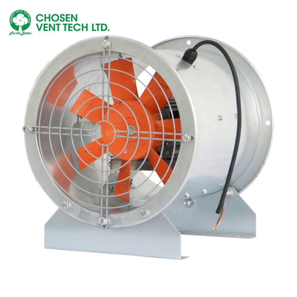 High efficiency professional axial flow industrial axial flow fan exhaust fan