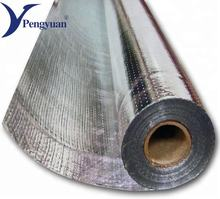 Fire proof and resistant foil woven flex insulation