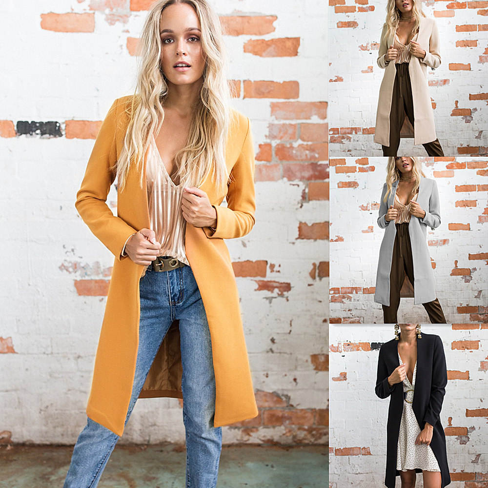 Wholesale 2018 fashion sexy women square collar woolen coat (C17707)