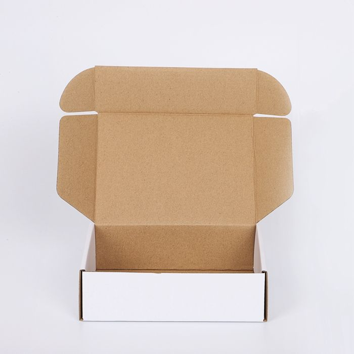 cheap packaging factory supplies cardboard shipping boxes matte black white custom printed hair product corrugated postage boxes