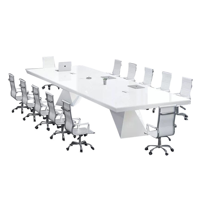 Good Quality MDF Boardroom Meeting Room Conference Table With 10 Seaters