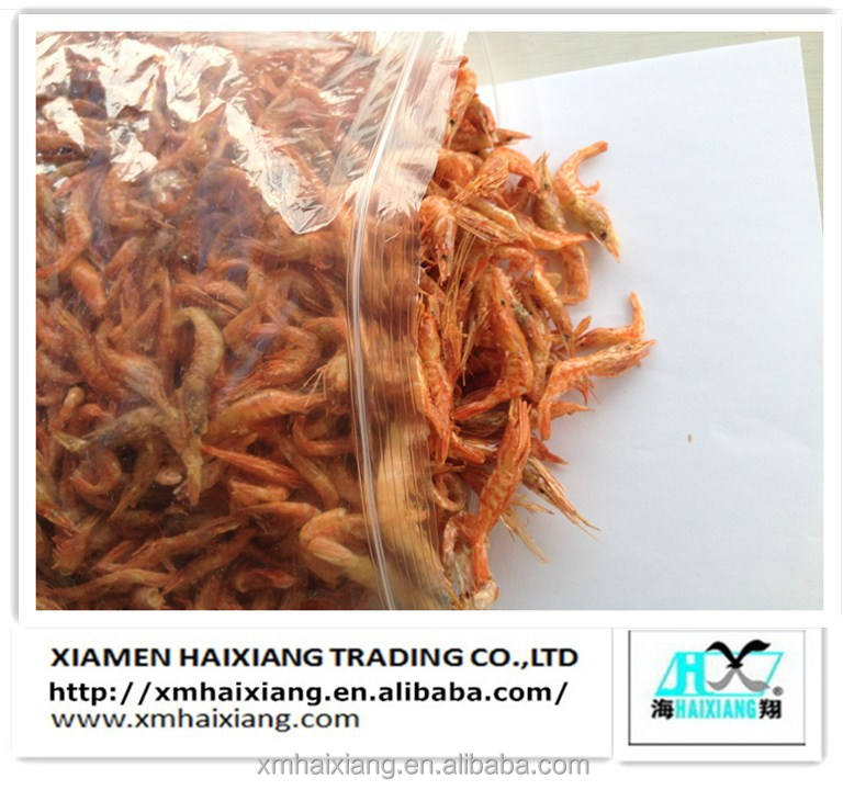 Dried small red shrimp supplier