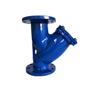 DN80 Y-strainer with SS screen Iron or Steel Body Bolted Bonnet Low Pressure 150lb PN16 Flanged Gate Valve