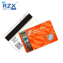 Professional Custom Printing  Business Magnetic Stripe Gift PVC Card