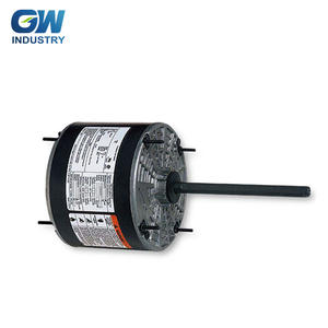 GW ELECTRIC 1/3hp 1/2hp 3/4hp 48 Frame Direct Drive Blower Fan Motor