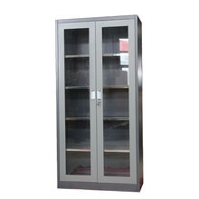 Factory price upright storage kitchen stainless steel cabinet