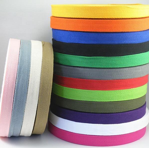Factory supply colored cotton bias tape