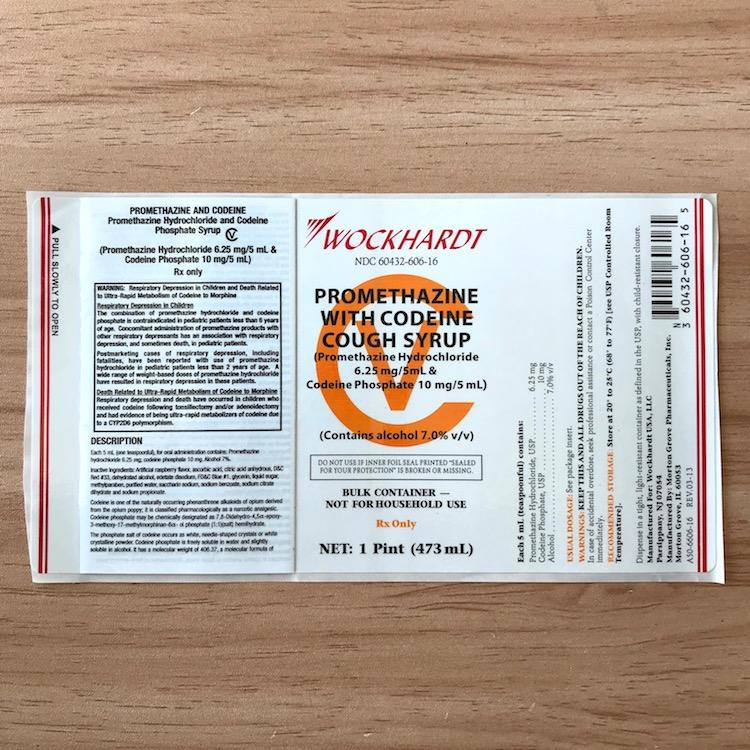 Wockhardt labels cough syrup hi tech Multi-layer Folding sticker labels