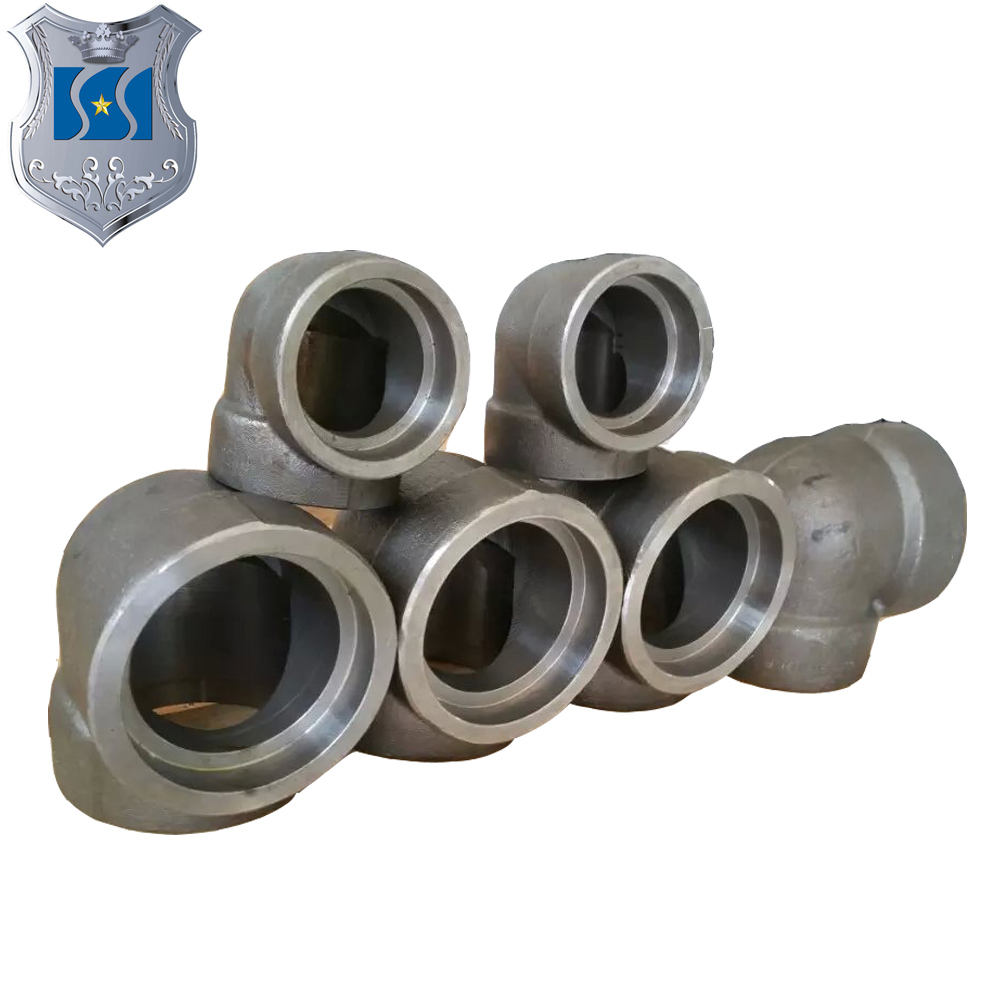High pressure carbon steel elbow used for plumbing material