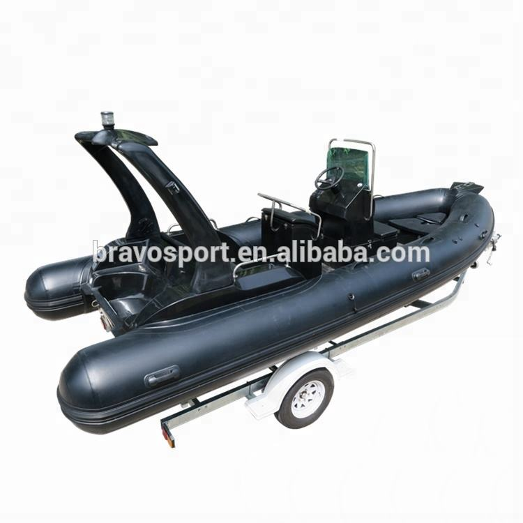 Rib 520 Hypalon Large Ce Inflatable Rib Boat 520 For Hot Sale