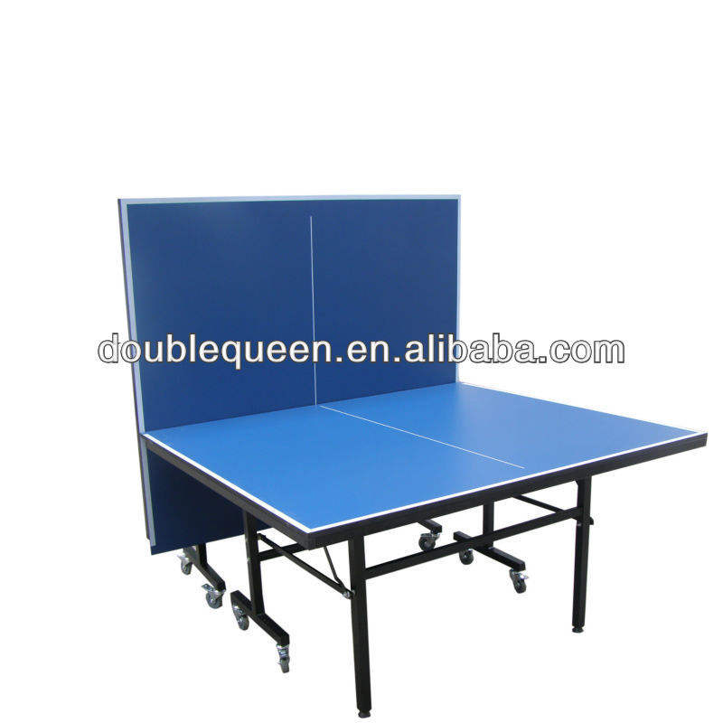 standard size glass pingpong table