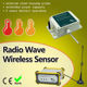Radio Wave Wireless Sensor gsm control gprs water meter gsm thermostats