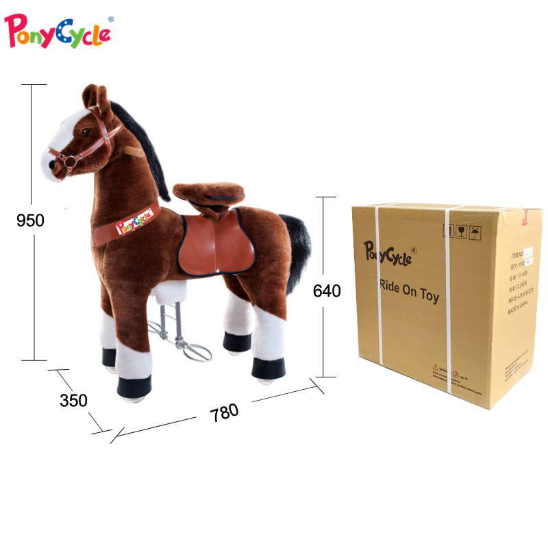 Dalian Pony toy different animals magical ride horse on toy