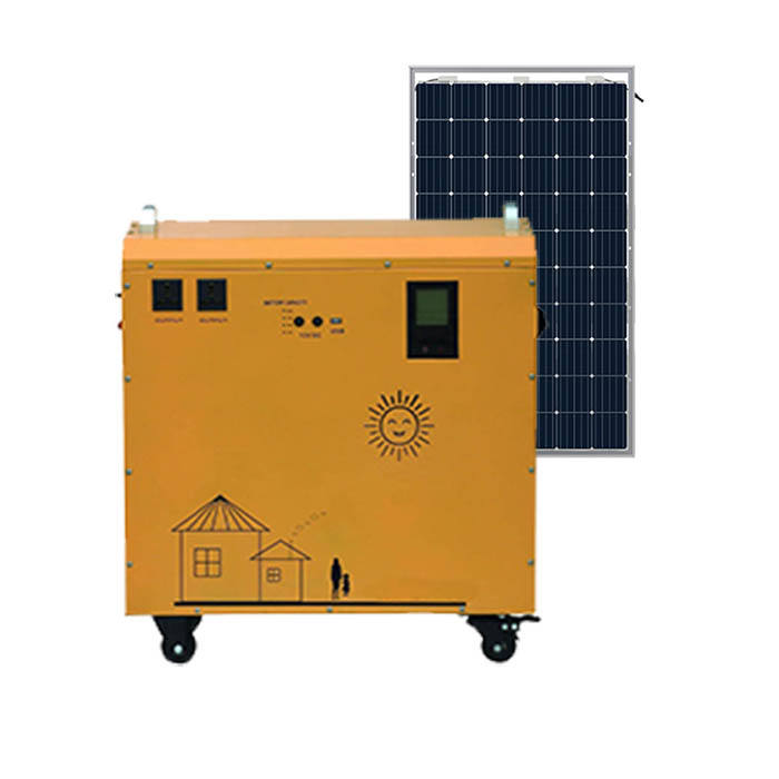 Wholesale price pure sine wave solar system 200AH Lead-acid battery solar home lighting system solar power system