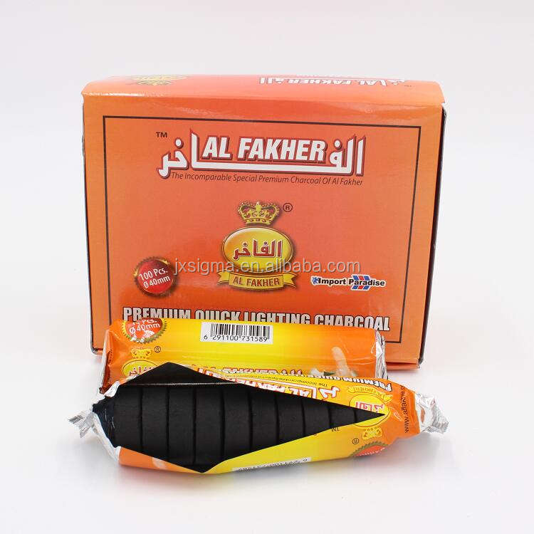 Smokeless Al Fakher Charcoal Hookah Shisha Charcoal quick light charcoal tablets