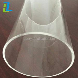 Large diameter transparent clear acrylic cylinder tube/PMMA cylinder