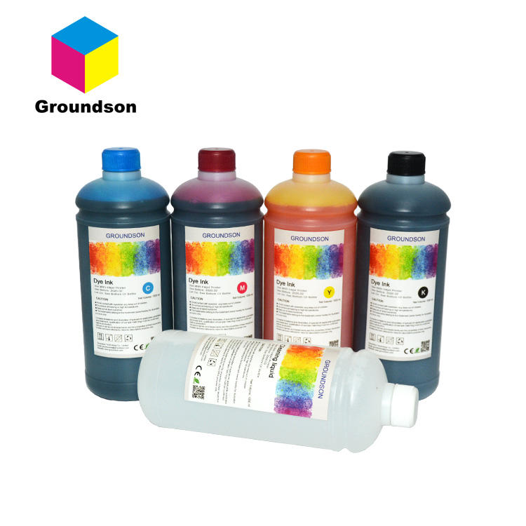 CMYK vivid color Dye refill ink for HP GT series 5810 ink tank system printer