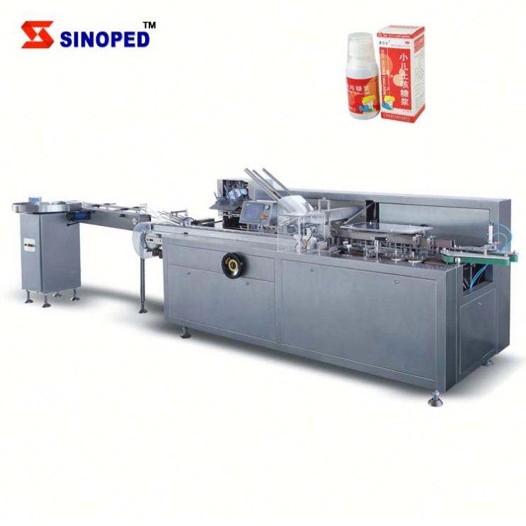 {SINOPED} Automatic Bottle Vial Cartoning Machine
