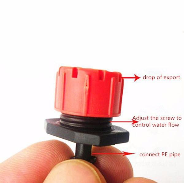 Adjustable head/drops head drip irrigation/micro nozzle/cooperate with 4/7 capillary make using the PE pipe punching